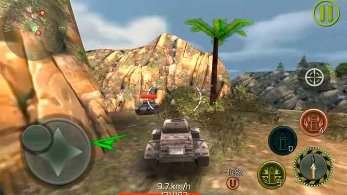 Tank Strike - графика