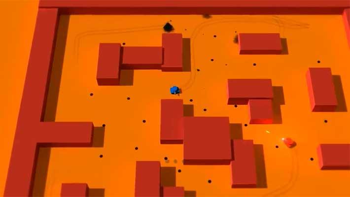 Tank Blast - оранжевый уровень
