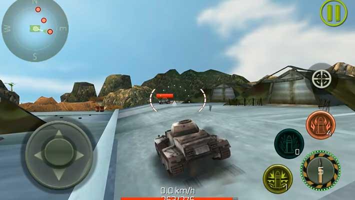 Tank Strike - 6 карт