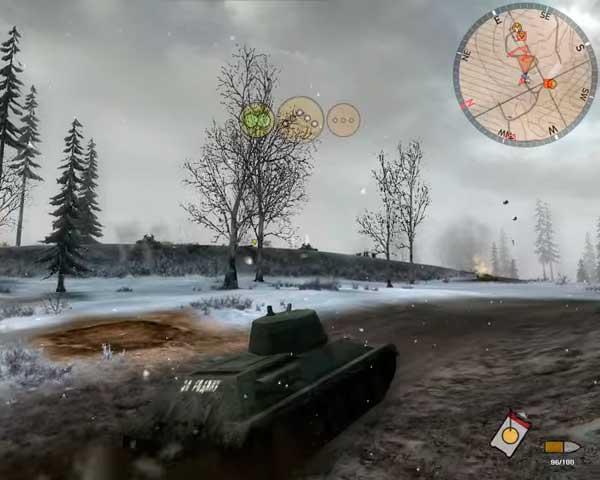 Panzer Elite Action - качественная графика для 2007 года