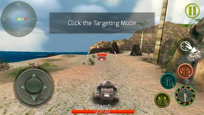 Tank Strike - краткое обучение