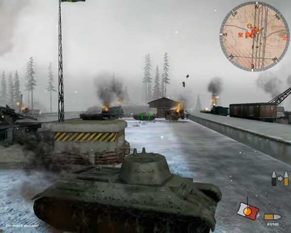 Panzer Elite Action - сталинград