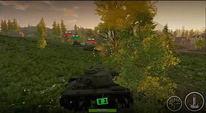 World Of Steel: Tank Force - геймплей похож на WOT