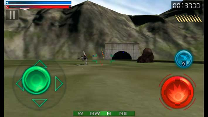 Tank Recon 3D - геймплей в стиле 90-х