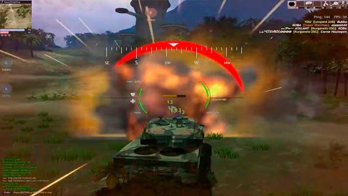 Red Crucible: Reloaded - враг уничтожен