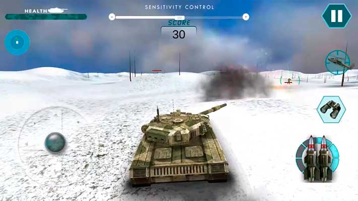 Real Battle of Tanks 2018: Army World War Machines - в горах