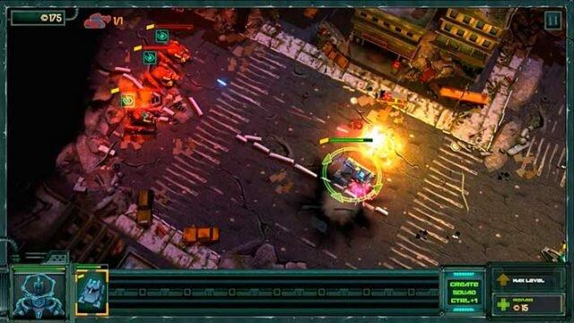 Tanks vs Aliens – война с пришельцами в RTS про танки будущего
