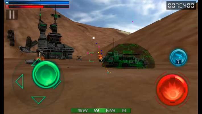 Tank Recon 3D - маленькие карты