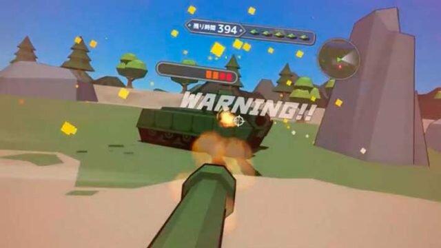 Voxel Tank VR - битва с боссом
