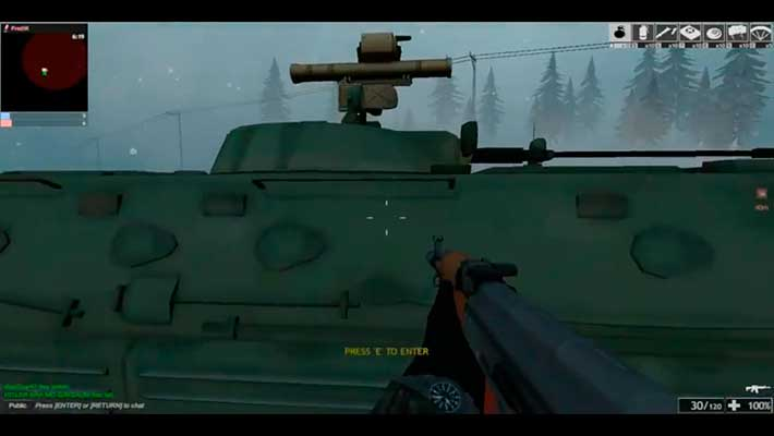 Red Crucible: Reloaded - садимся в БТР