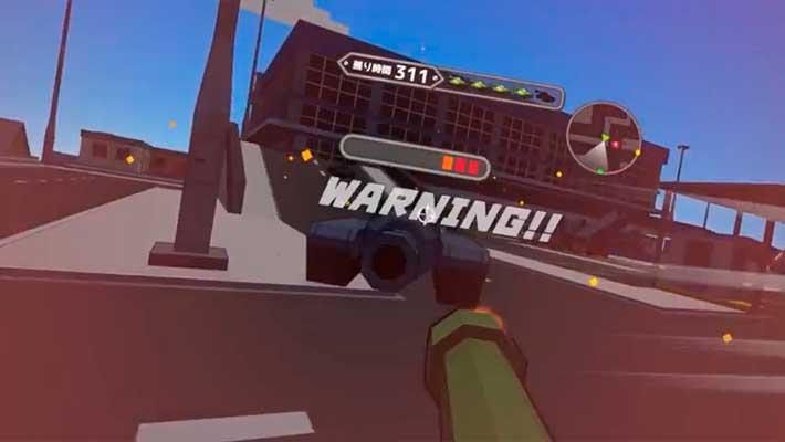 Voxel Tank VR - атакуем врага