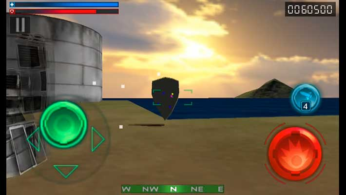 Tank Recon 3D - мыльная графика