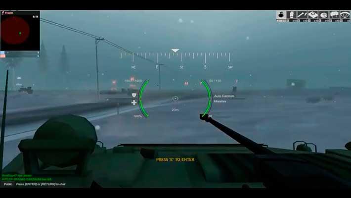 Red Crucible: Reloaded - бронетранспортер от 1 лица