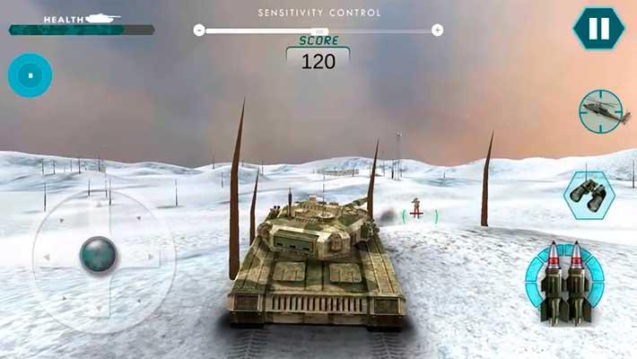 Real Battle of Tanks 2018: Army World War Machines - красивая графика