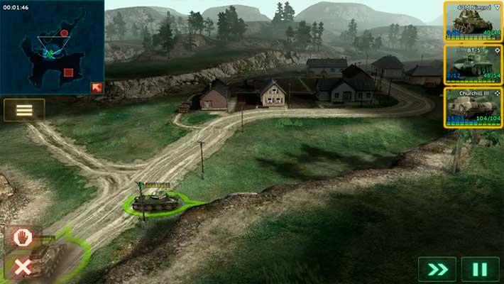 Armor Age: Tank Wars - нормальная графика