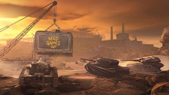 Mad Games в World of Tanks Blitz