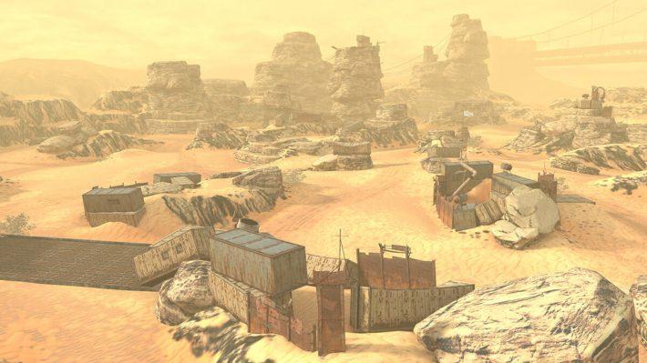 Mad Games в World of Tanks Blitz - новая карта Пустошь