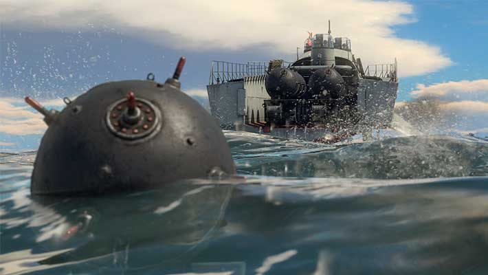 В War Thunder появились Морские Мины