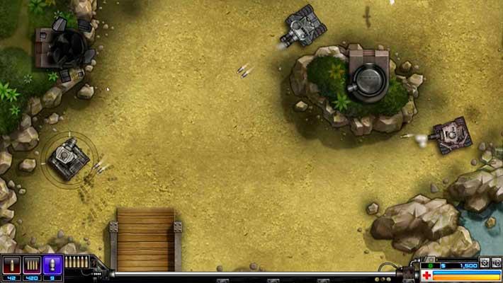 TankBlitz – экшен-танки на ПК с видом сверху и бодрым геймплеем