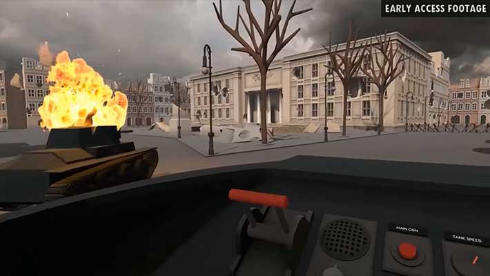 Tanks VR – один из лучших танковых симуляторов онлайн с поддержкой VR