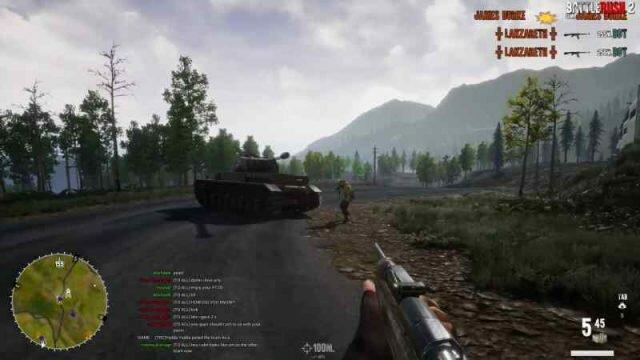 BattleRush 2 – онлайн шутер о Второй мировой с выживанием и крафтом