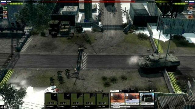 Warfare Online – военная онлайн стратегия с клиентом в современном сеттинге