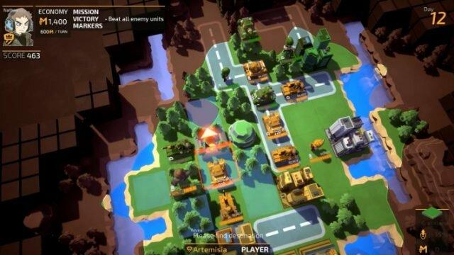 TINY METAL – аркадная пошаговая стратегия с танками, авиацией и пехотой