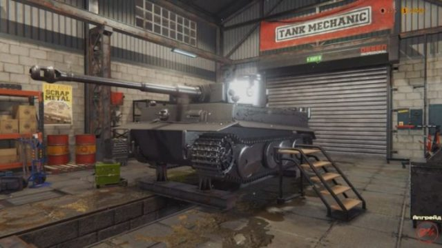 Tank Mechanic Simulator – лучший симулятор строительства и ремонта танков Второй мировой