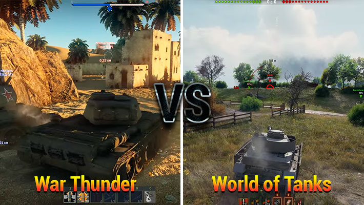 world of tanks vs war thunder