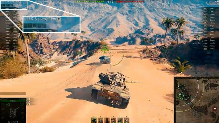 пинг в world of tanks