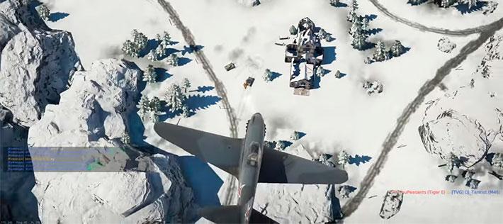 Самолеты против танков war thunder