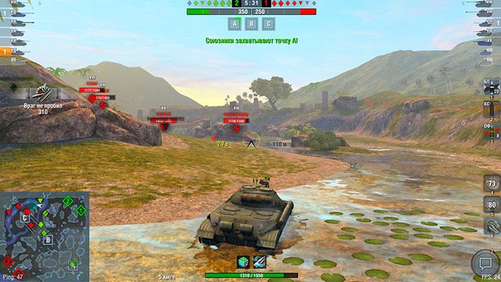 ИС-5 - геймплей