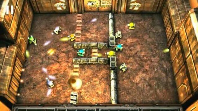 Tank Hero: Laser Wars – аркадная танковая головоломка с огромными боссами