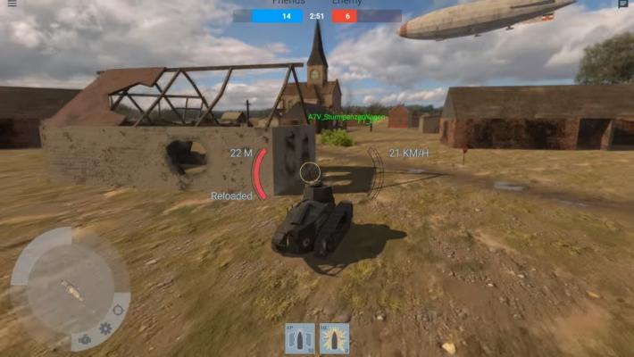 восстановление танка в вот