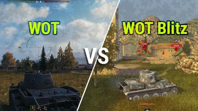 Что лучше: WOT или WOT Blitz – выбор танкиста