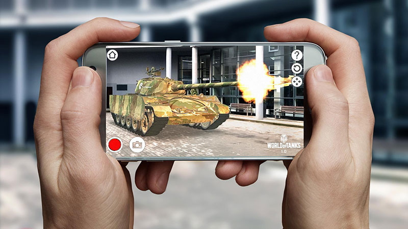 World of Tanks AR