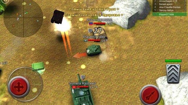 Battle Tank – сетевая аркада про танки на 200 игроков