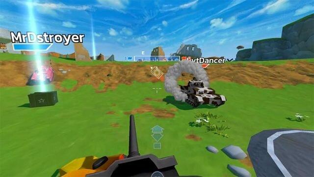 Panzer Panic VR – танковый VR-шутер с локальным мультиплеером