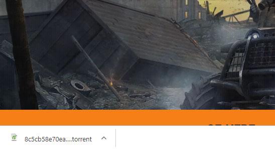 Torrent-файл загрузки Crossout