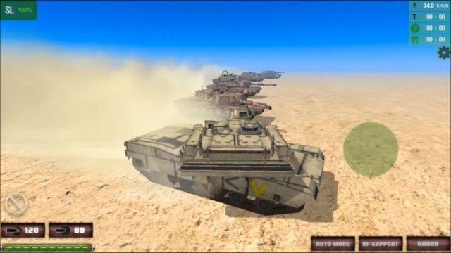 Armor Battalion: Tank Wars – танковая аркада для всех устройств