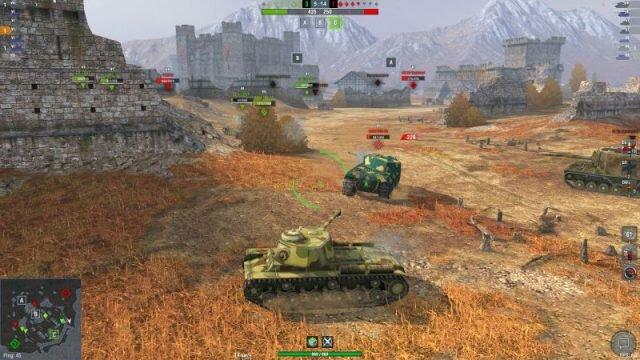 КВ-1С – имбовый тяж советской ветки WOT Blitz