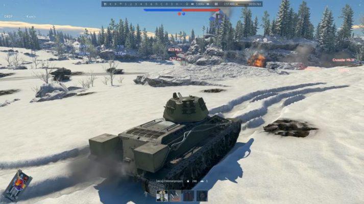 War Thunder - графика, высокие настройки