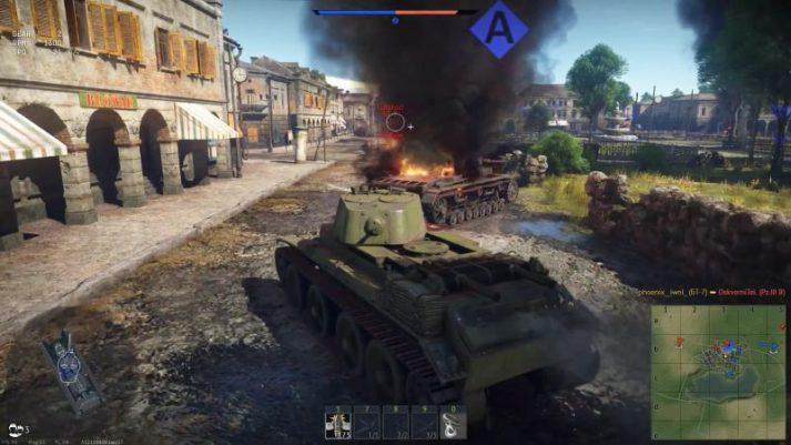 War Thunder: 1 в поле -  воин