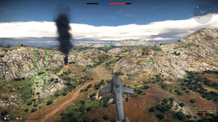 War Thunder - вертолет