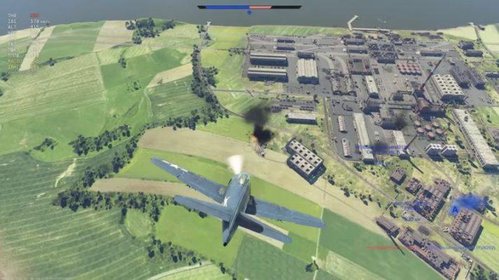 War Thunder - на самолете против танков
