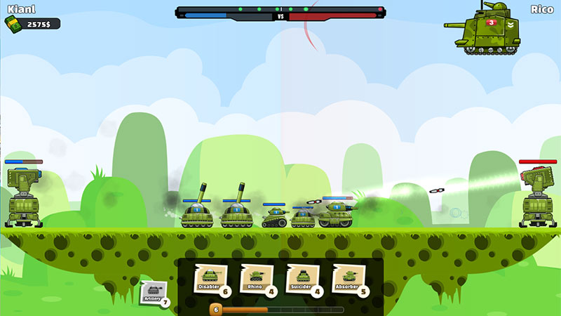 Super Tank Battle