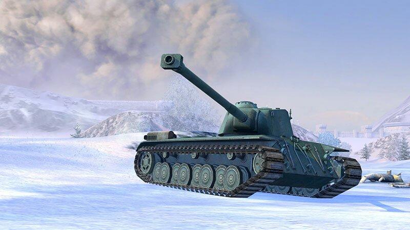 Французский премиум-танк FCM 50t