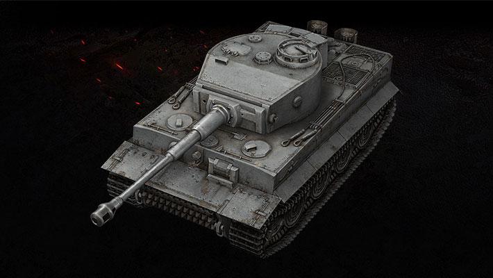 Tiger I (7 ранг, Германия)