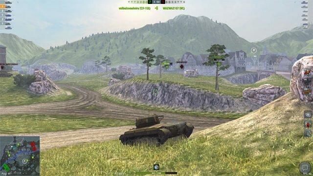 T23E3 – американский «громобой» для активной игры