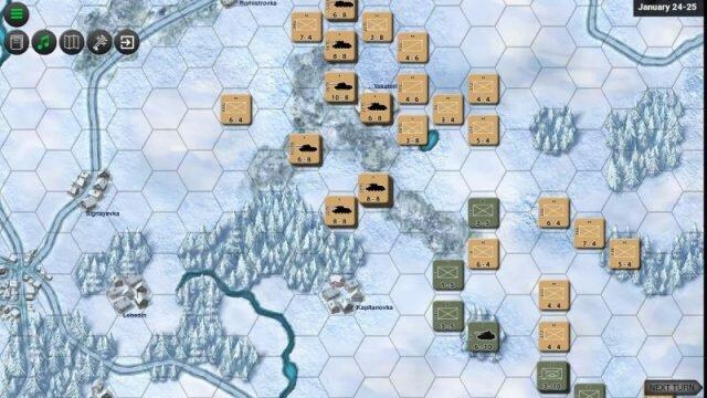 Battle For Korsun – пошаговая стратегия про танки без графики
